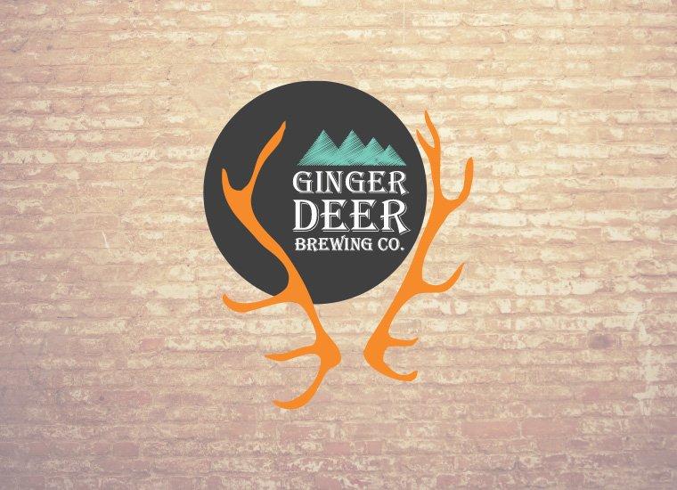 Boutique Logo Design | Ginger Deer Brewing Co. | Sydney