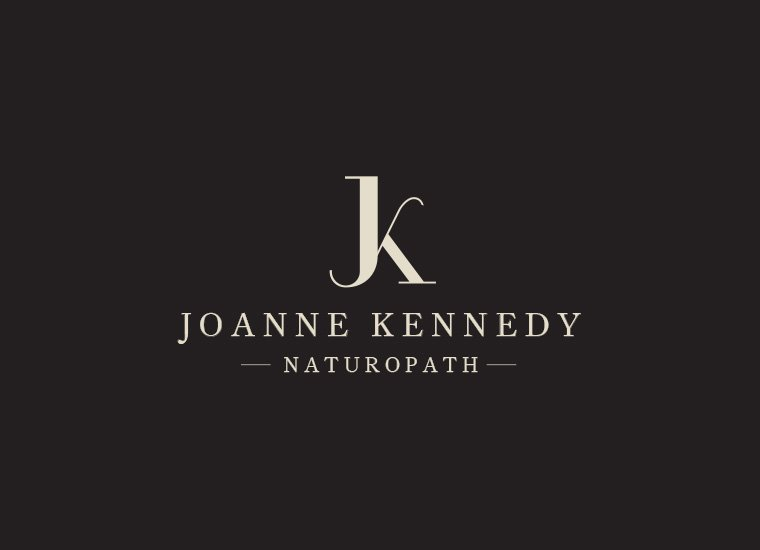 Logo Design | Joanne Kennedy Naturopath | North Shore