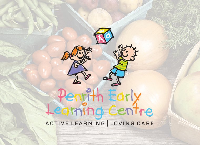 Childcare Graphic Design | Penrith Early Learning Centre | Sydney